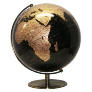 bbebd92433 Black   Gold World Globe 25cm