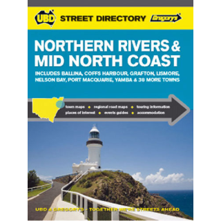 UBD Northern Rivers Street Directory by Universal Publishers (Paperback, 2008)