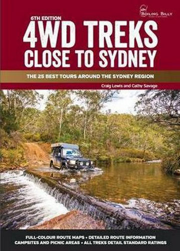 4wd Treks Close To Sydney 9781922131454