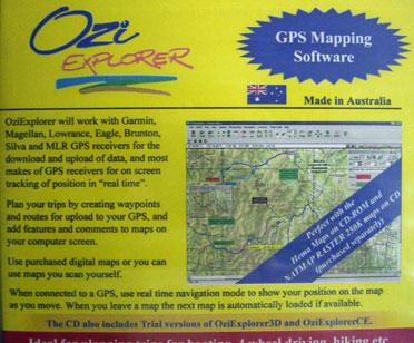 Map Centre Parramatta - OziExplorer CD