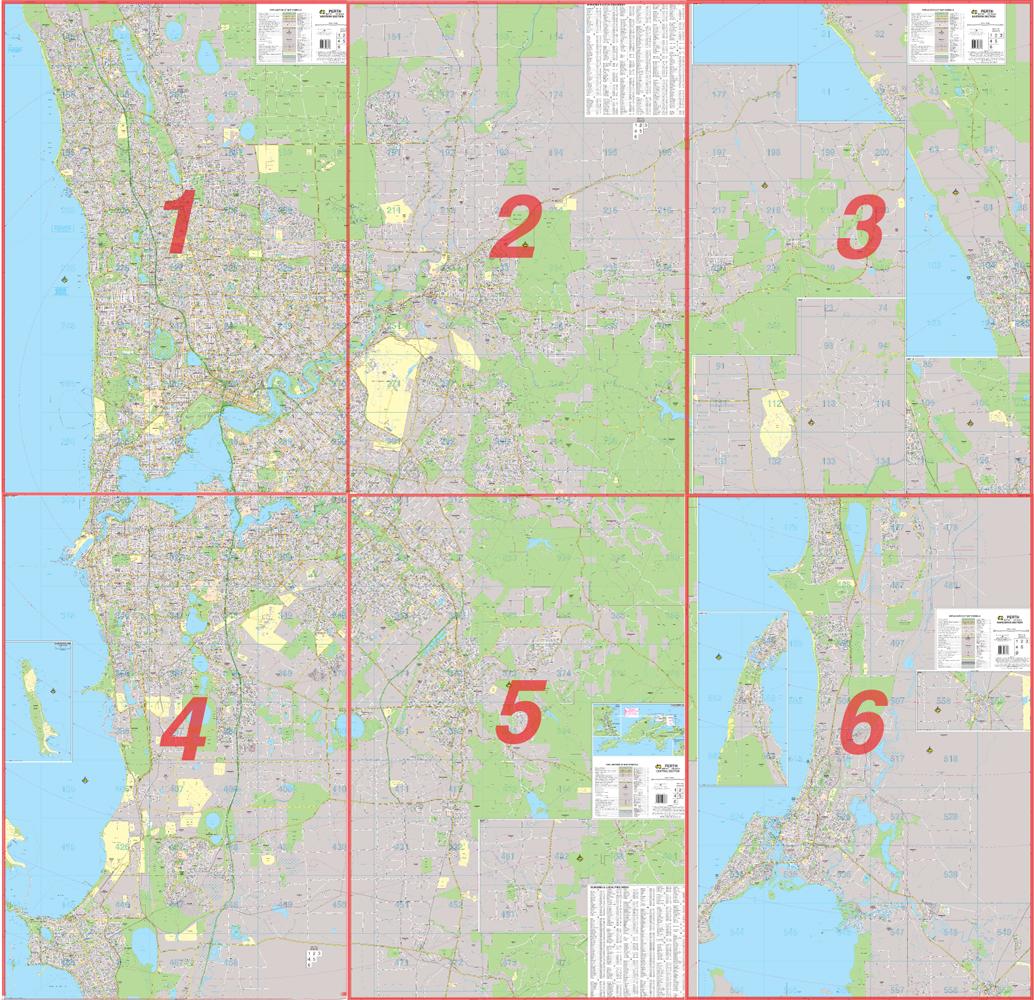 Ubd Street Directories Western Australia Perth Audio Books – Australia Street Map