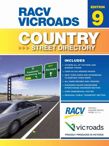 Map Centre Parramatta Victoria Country Streets Vicroads O Print And Not In Stock
