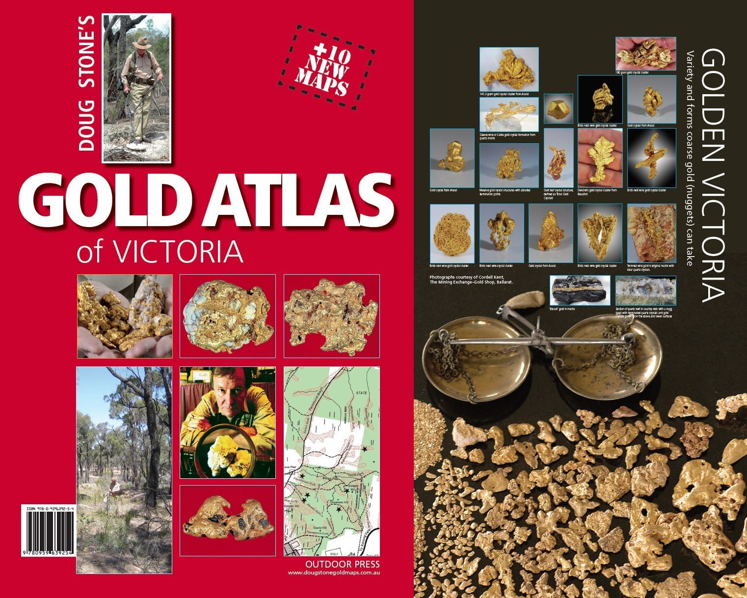 Gold Atlas Of Victoria Doug Stone 9780959639254