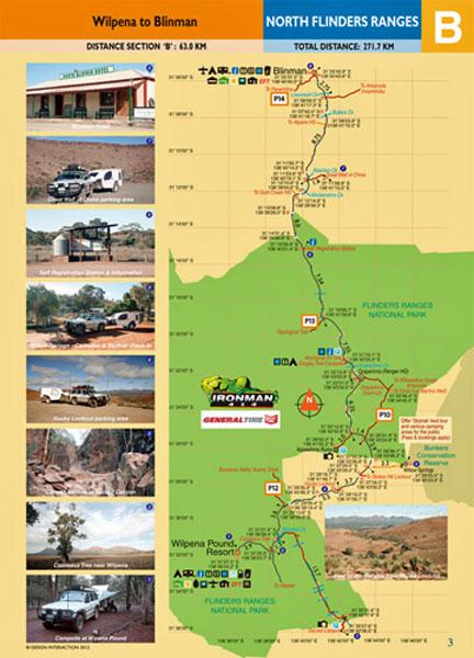 North Flinders Ranges Track Guide 9780987412515