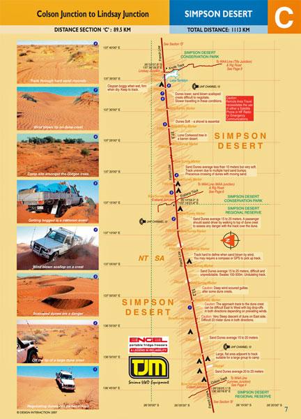 Simpson Desert Track Guide 9780987412591