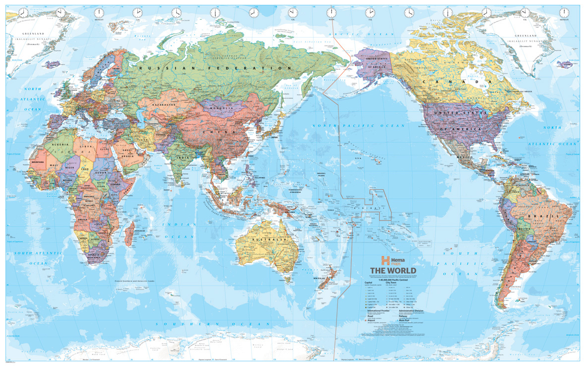 Map centre parramatta world hema mega map laminated 2320 x 1460 enlarge gumiabroncs Gallery